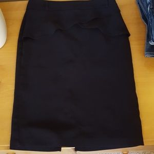 Abn black pencil skirt Size 10